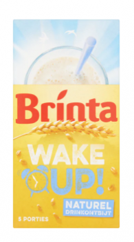 Brinta Wake Up drink ontbijt Naturel 5x 23 g