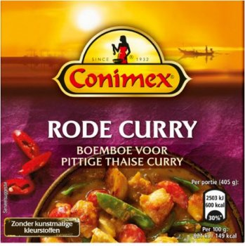 Conimex Boemboe Rode Curry 95 g