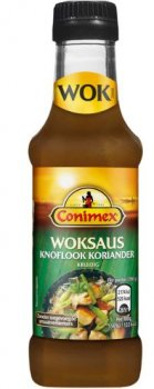 Conimex Woksaus Knoflook Koriander 175 ml
