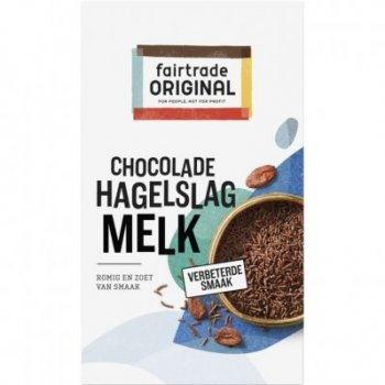 Fair Trade Original Hagelslag Melk 380 g