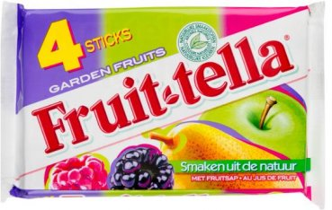 Fruitella Garden Fruits 4x 41 g