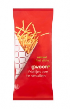 G'woon Frites Sticks naturel 150 g