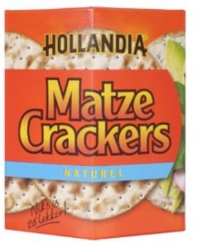 Hollandia Matze Crackers 100 g
