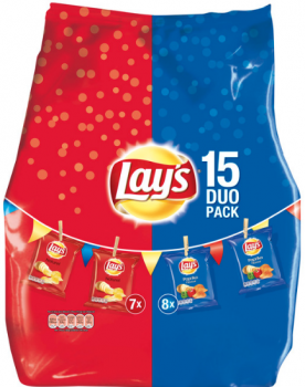 Lays DUO Pack 412,5 g