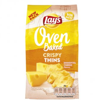 Lays Oven Crispy Thinks Emmental Cheese 90 g