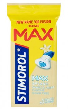 Stimorol MAX Splash Vanilla Mint 3er Pack  66 g