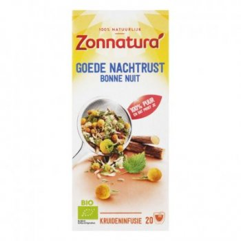 Zonnatura Goede nachtrust thee 40 g
