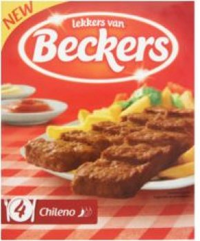 Beckers Chileno's 16x 80 g (4 Packungen)