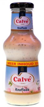 Calvé Knoflook saus 320 ml