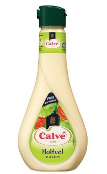Calve Slasaus Halfvol 450 ml