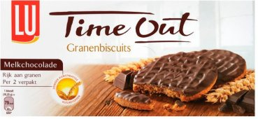 LU Time Out Granenbiscuit Melkchocolade 195 g