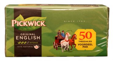 Pickwick Original English intense 200 g (50x 4 g)
