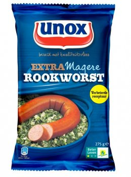 Unox Extra Magere Rookworst 275 g