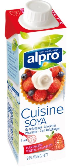 Die no 1 in deutschland alpro soya for Alpro soya cuisine