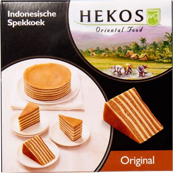 Hekos Indonesische spekkoek original 570 g