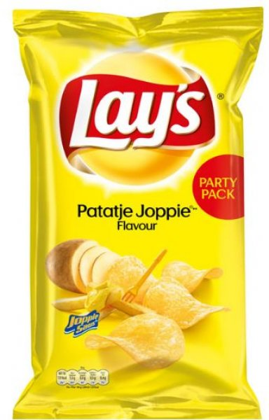 Lays Chips Patatje Joppie Party Pack 335 g