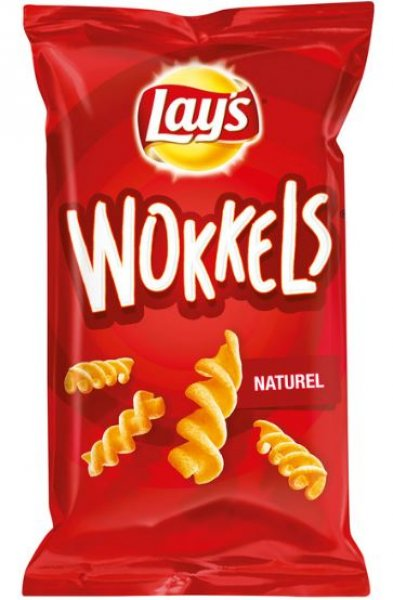 Lays Wokkels naturel 125 g