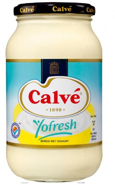 Calvé Saus Yofresh Pot 650 ml
